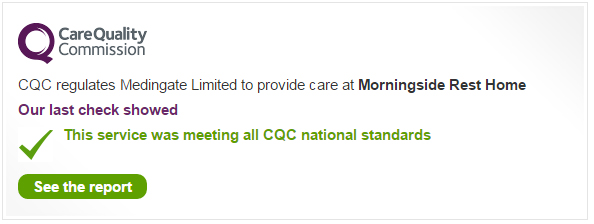 CQC Inspection Results